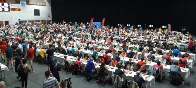 Le bulletin de la ronde 1 : 821 joueurs ont débuté le championnat !