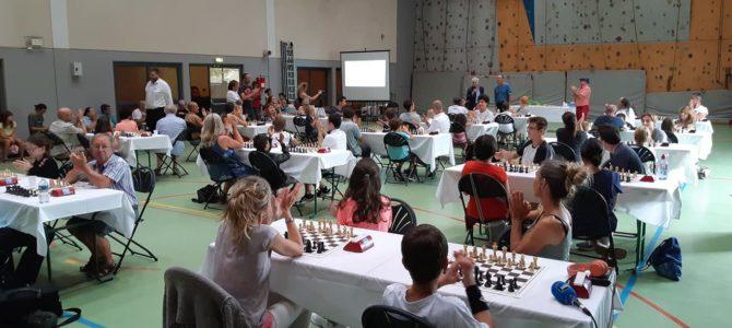 68 joueurs au championnat de France d'échecs des débutants !
