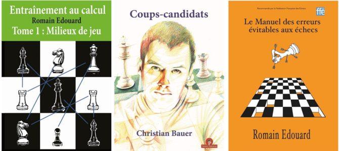 Chaque jour, un livre de Romain Édouard ou de Christian Bauer à gagner !